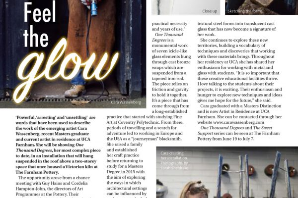 News: Life in Farnham magazine. Issue 90. June 2018.