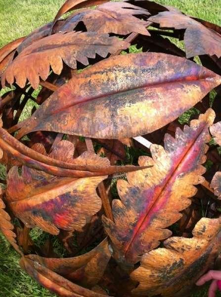 Leaf Globes Detail