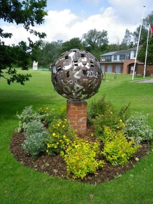 The Portsmouth Grammar School. Olympic Globe. 2012