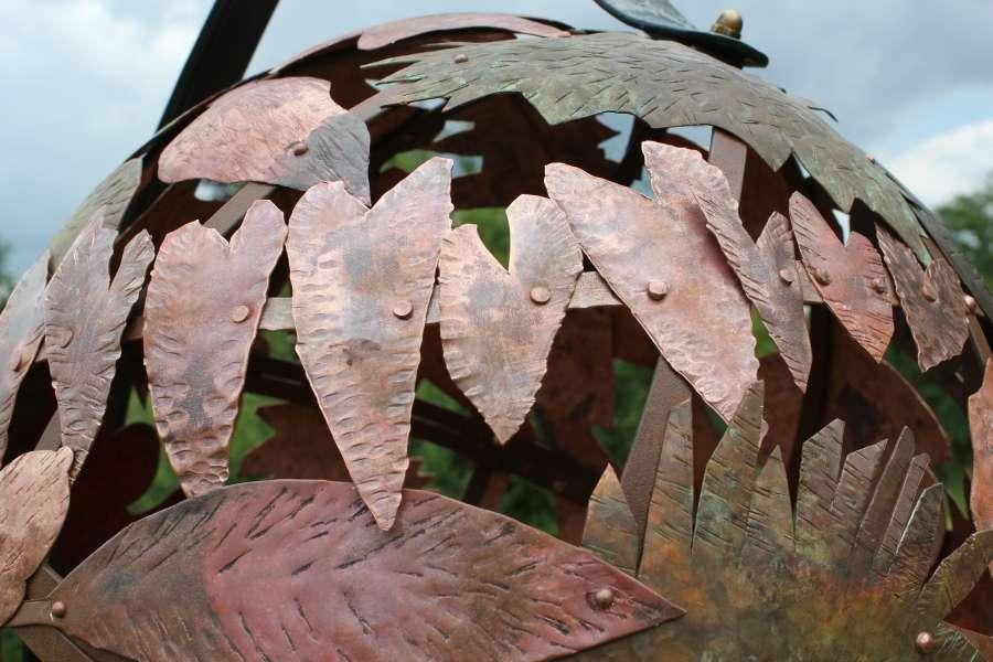 Sheet Primary School, Petersfield.Woodland Leaf Globe. 2014